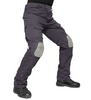 Trousers with knee pads