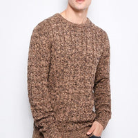Fashionable warm men's pullover