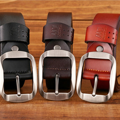 Stylish leather belt