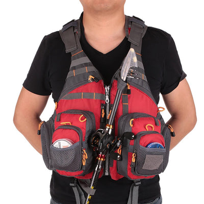 Vest for fisherman