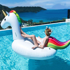 Unicorn Pool Float - Unicorn Roll