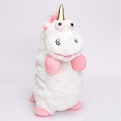 Fluffy Unicorn Plush Toy - Unicorn Roll