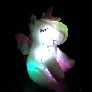 Light Up Unicorn Stuffed Animal - Unicorn Roll