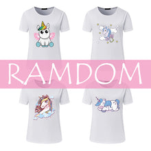 Load image into Gallery viewer, Angel Unicorn T Shirt For Women - Unicorn Roll