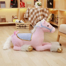 Load image into Gallery viewer, JUMBO Unicorn Plush Toy - Unicorn Roll