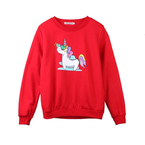Sparkly Unicorn Sweatshirt - Unicorn Roll