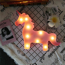 Load image into Gallery viewer, Unicorn Led Night Light - Unicorn Roll