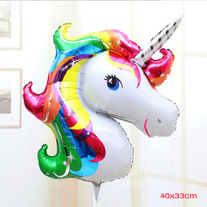 Unicorn Birthday Balloon - Unicorn Roll