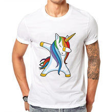 Load image into Gallery viewer, Dabbing Unicorn Men T-Shirt - Unicorn Roll