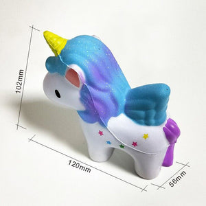 SQUISHY™ Slow Rising Unicorn Toy - Unicorn Roll
