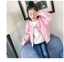 Load image into Gallery viewer, Stylish Unicorn Bomber Outerwear Jacket - Unicorn Roll