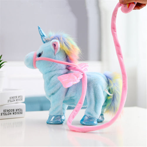 Walking and Singing Unicorn Toy - Unicorn Roll