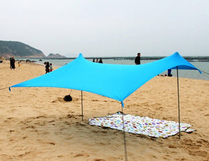 Beach Tent With 2 FREE Poles