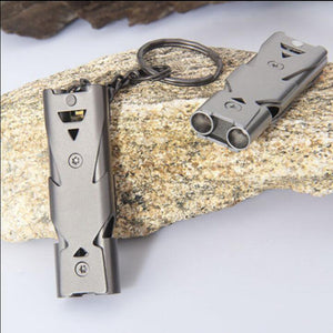 Stainless Steel Survival Whistle