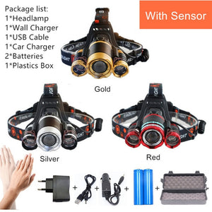 Led Motion Sensor Headlamp