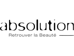 Absolution luxury French organic skin and body care at Ecoture | Absolution logo