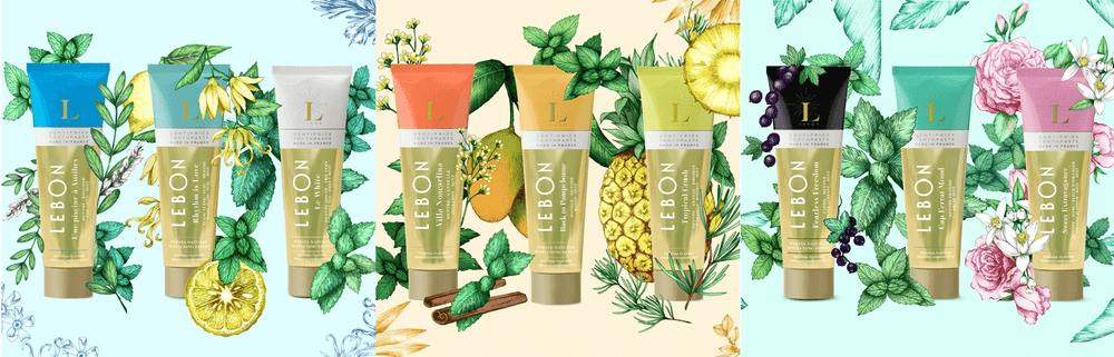 Lebon Luxury Organic Toothpaste Collection at Ecoture