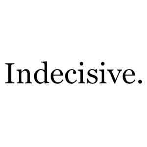 Indecisive logo | Shop Indecisive at Ecoture