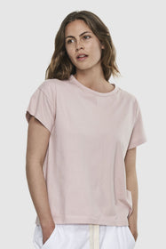 Classic Vintage Tee | Dusty Rose