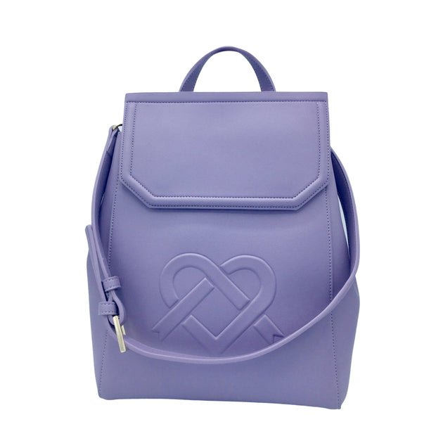 Livia Backpack | Purple - GUNAS New York | Ecoture