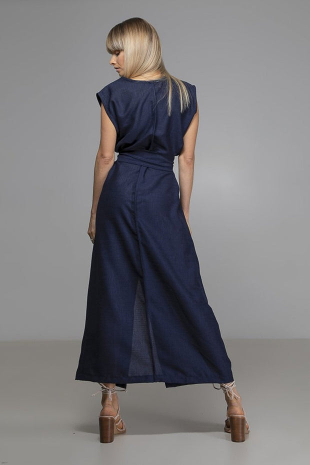 Asha Dress | Navy - Indecisive | Ecoture