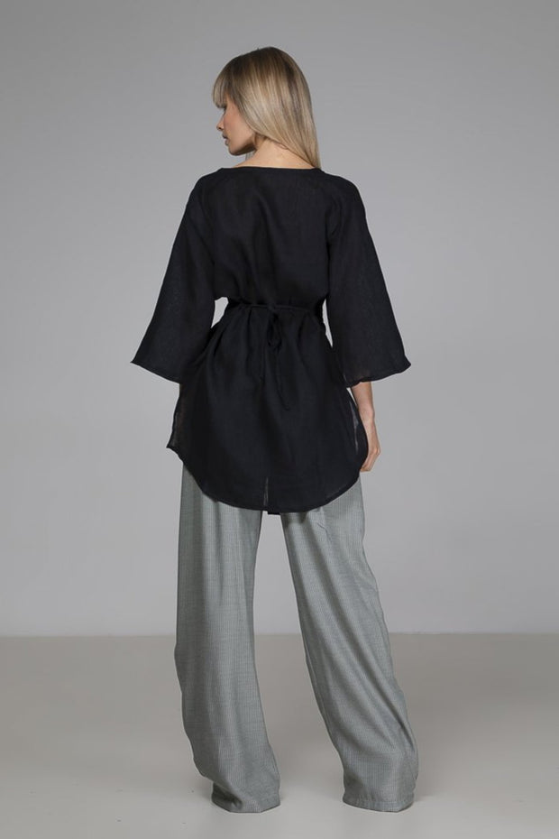 Bailey Blouse | Black - Indecisive | Ecoture
