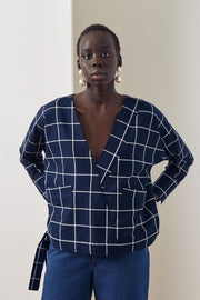 Assemble Top | Check - Kowtow | Ecoture