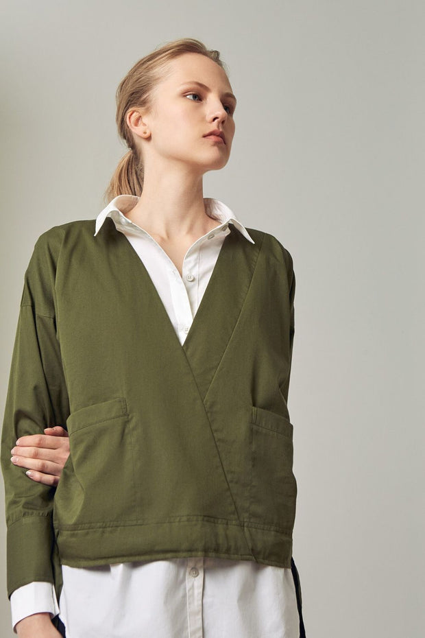 Assemble Top | Moss - Kowtow | Ecoture