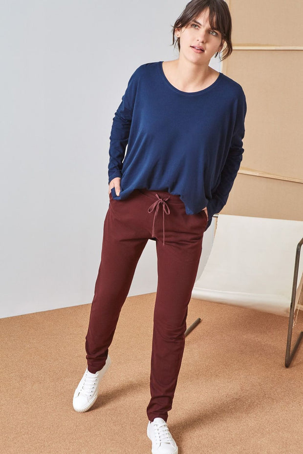 Pant | Wine - Kowtow | Ecoture
