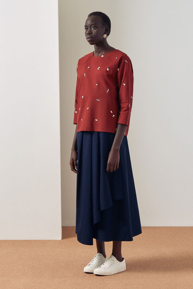 Camille Top | Dream Print - Kowtow | Ecoture