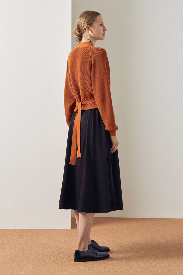 Composure Cardigan | Rust - Kowtow | Ecoture