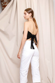 Bella Tube Top | Black - Noumenon | Ecoture