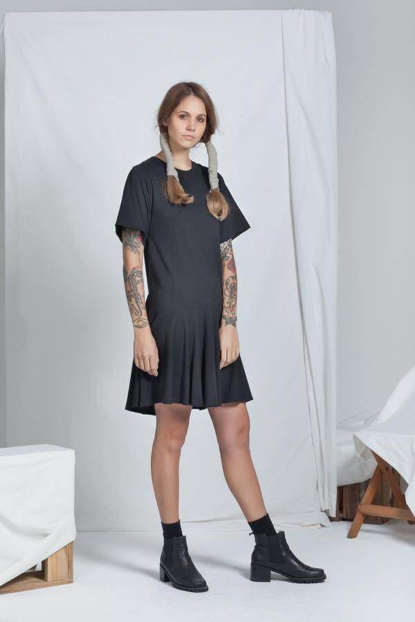 Adjoin Dress | Black - ReCreate | Ecoture