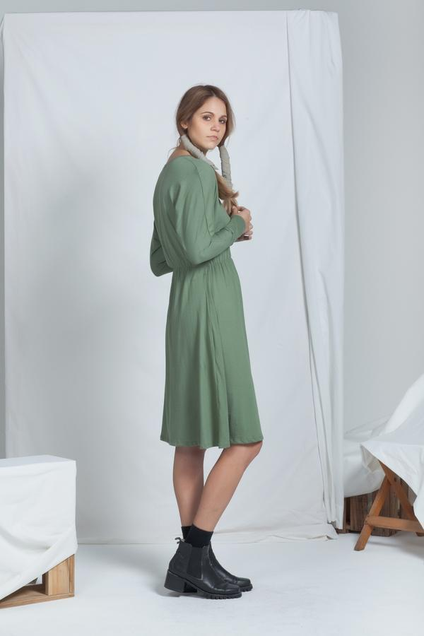 Diffuse Dress | Khaki - ReCreate | Ecoture