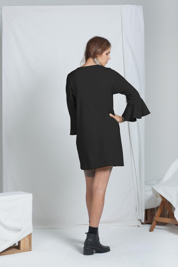 Muse Dress | Black - ReCreate | Ecoture