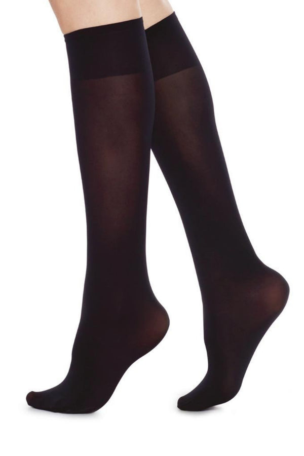 Ingrid Premium Knee-Highs | Black