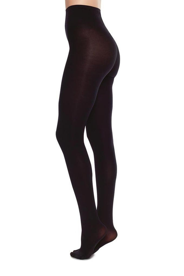 Lia Premium Tights | Black