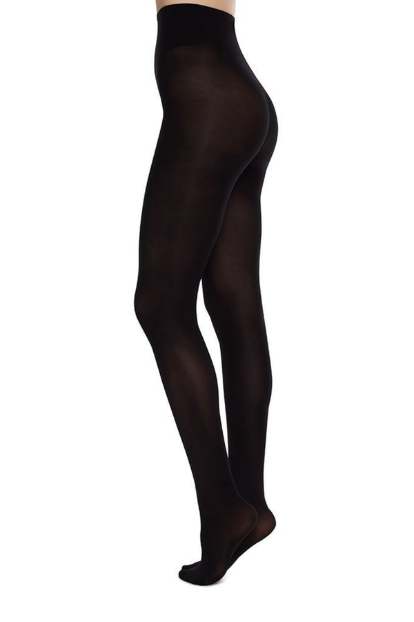 Olivia Premium Tights | Black