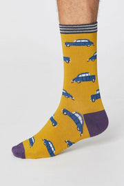 Vintage Cars Socks | 4 Pack - Thought | Ecoture