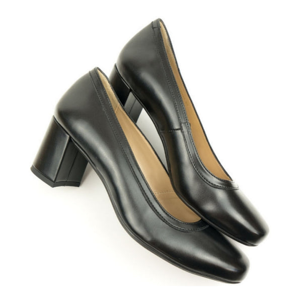 Block Heel | Black