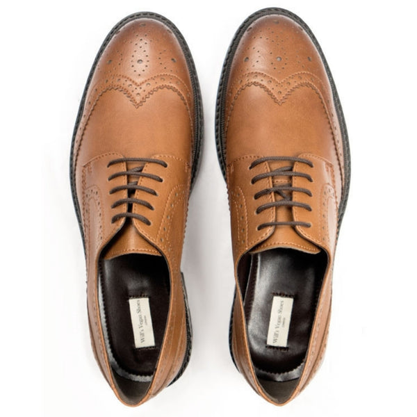 Continental Brogue | Tan