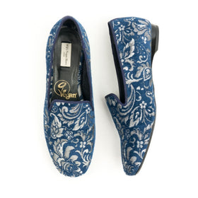 Jacquard Slip-On Loafer | Frost Floral