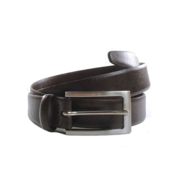 Classic 3cm Belt | Dark Brown