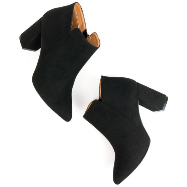Point Toe Boot | Black