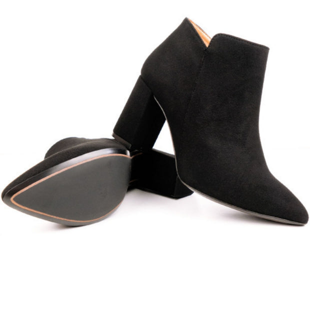Point Toe Boot | Black - Will's Vegan Shoes | Ecoture