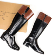 Riding Boot | Black - Will's Vegan Shoes | Ecoture