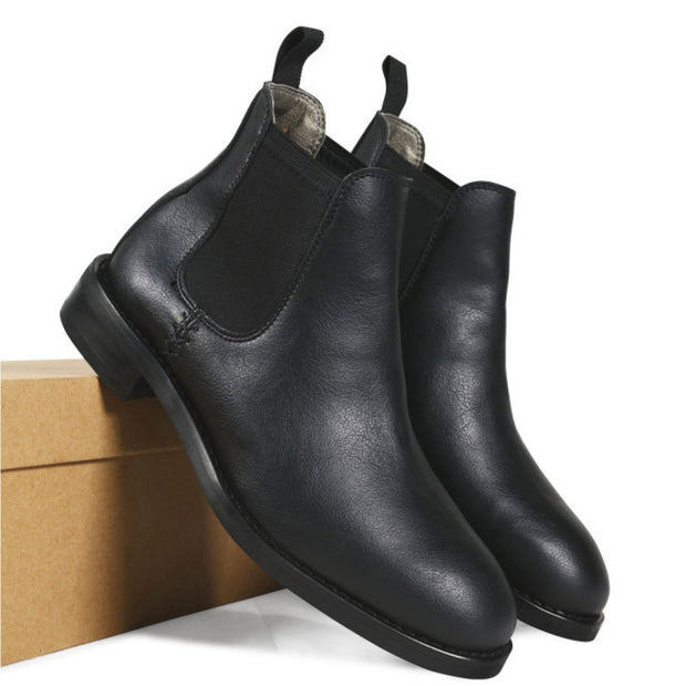 Men's Waterproof Chelsea | Black - Will's Vegan Shoes | Ecoture