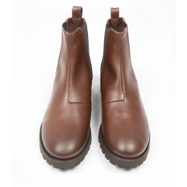Deep-Tread Chelsea | Chestnut