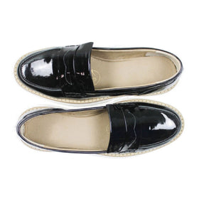 Women's Loafer | Patent Black