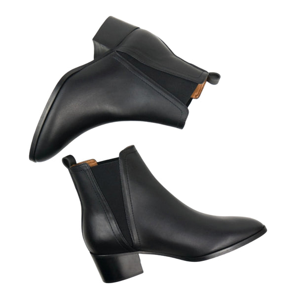 Point Toe Chelsea | Black